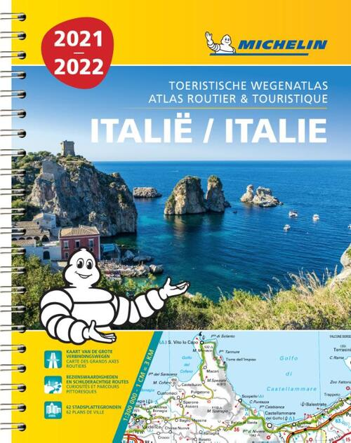 Atlas Michelin Italie 2021 9782067250147
